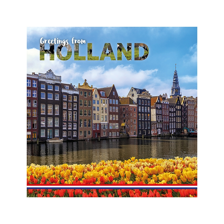 Greetings from Holland - Canal houses