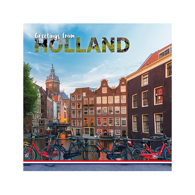 Greetings from Holland - Grachtenpand Amsterdam